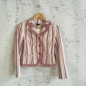MARC JACOBS PINK STRIPE BLAZER 4